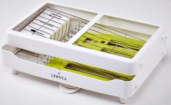 Com seu design compacto é possível encaixar perfeitamente em todos os modelos e tamanhos de pia.