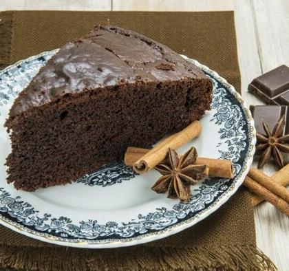 receita de bolo de chocolate com canela