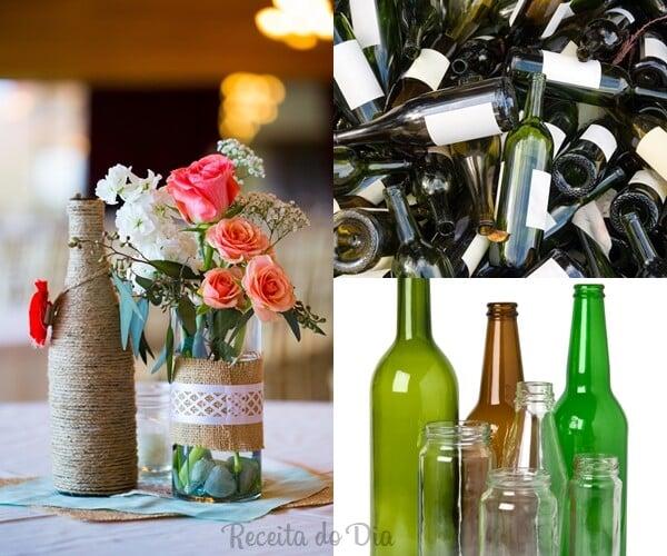 Recicle garrafas e vidros 3