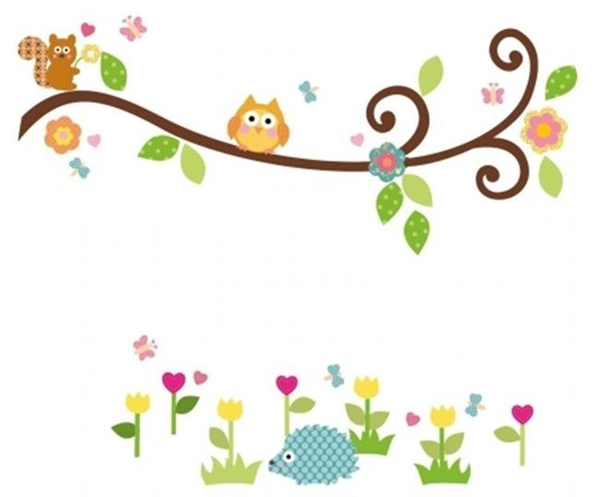 papel de parede para quarto infantil 2