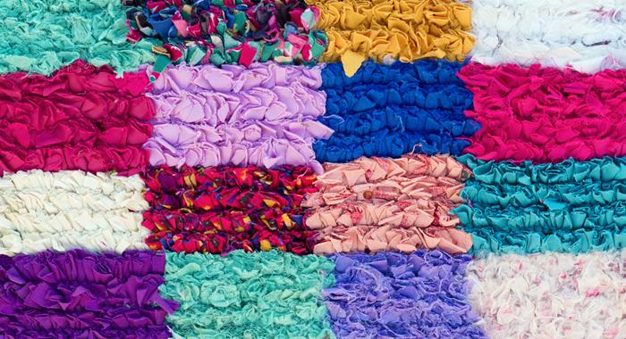 Tapete de retalhos – Como fazer tapete de retalhos