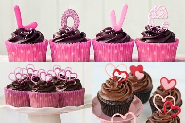cupcake - dia dos namorados