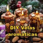 Velas aromáticas – DIY velas perfumadas