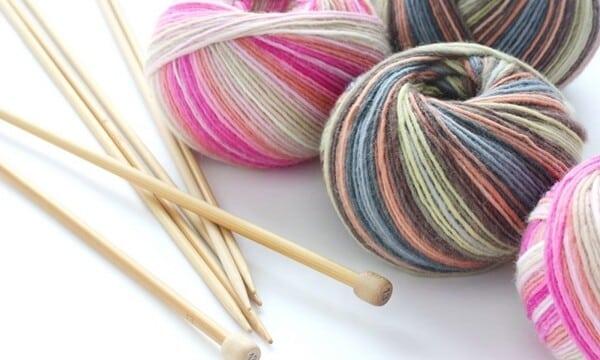 linhas de lã