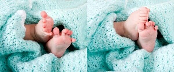 manta de crochê para bebê 1