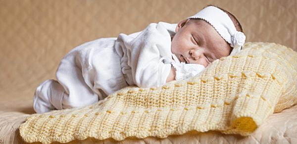 manta de croche para bebê 1