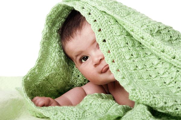 manta de croche para bebê 2