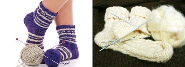 meias de lã 2