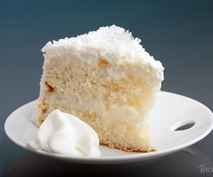 receita de bolo gelado