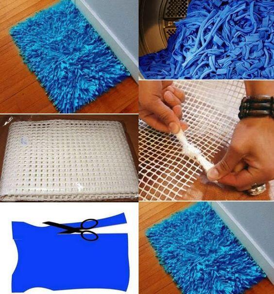 Tapete de retalhos como fazer tapete de retalhos for Tapete teenager