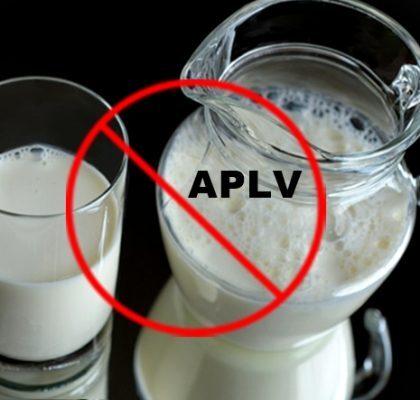 APLV Alergia à proteína do leite de vaca
