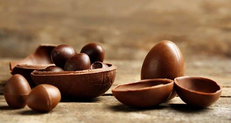 Ovos de páscoa caseiro com essa excelente e fácil receita