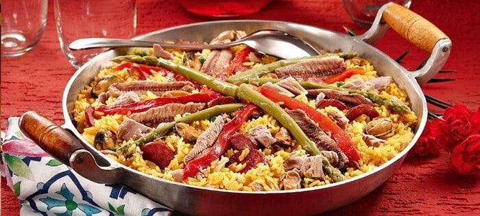 Paella – Receita saborosa e saudável