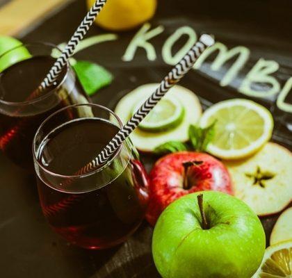 Kombucha conhecida como a bebida da saúde