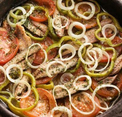 Moqueca de sardinha muito mais saboroso e fácil de preparar!