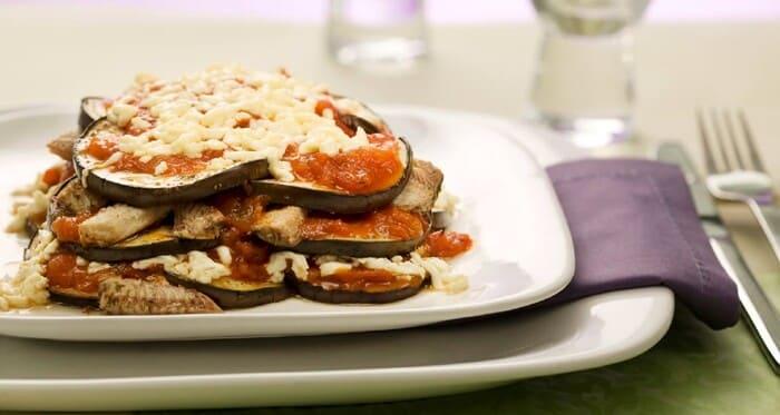 Lasanha de Berinjela e Sardinha saudável e fácil de preparar!