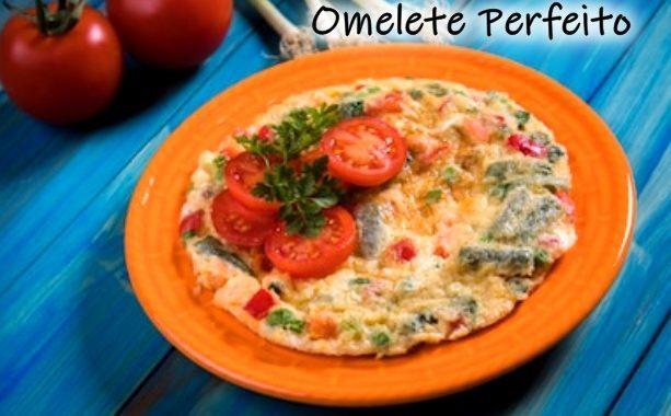 Omelete Perfeito: receita de omelete simples e fácil