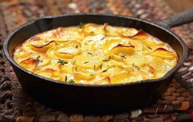 Batatas com Creme de Leite: Deliciosa e perfeita para uma refeição!