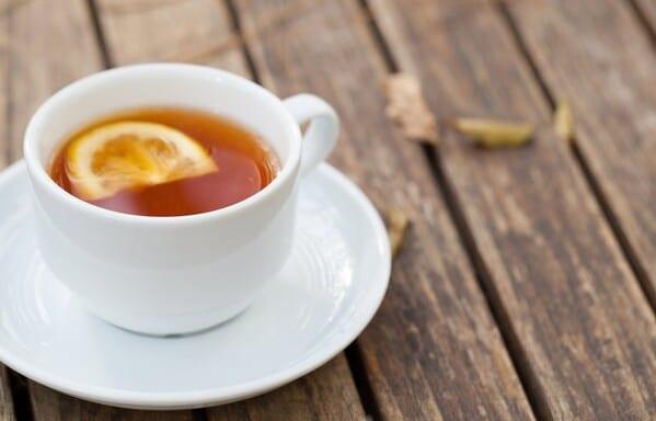 Chá com limão para fortalecer o sistema imunológico