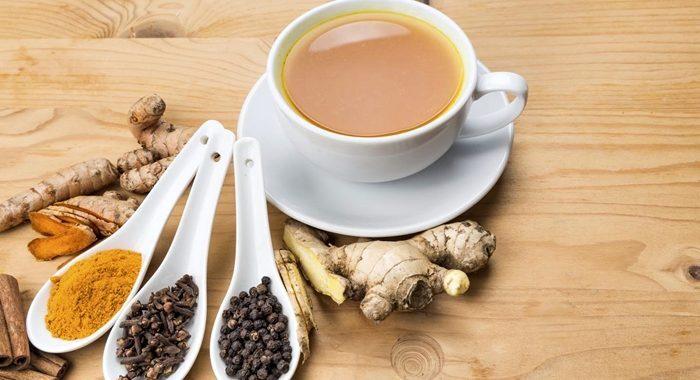 Chá de gengibre com cravo e canela: Perfeito termogênico!