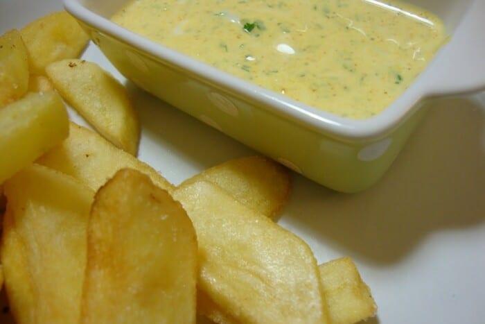 Molho delicioso para Batata frita