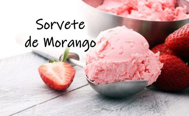 Receita de Sorvete de Morango: docinha e fácil de preparar