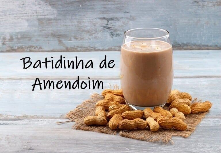Batidinha de Amendoim