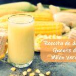 Delícia quente Milho Verde