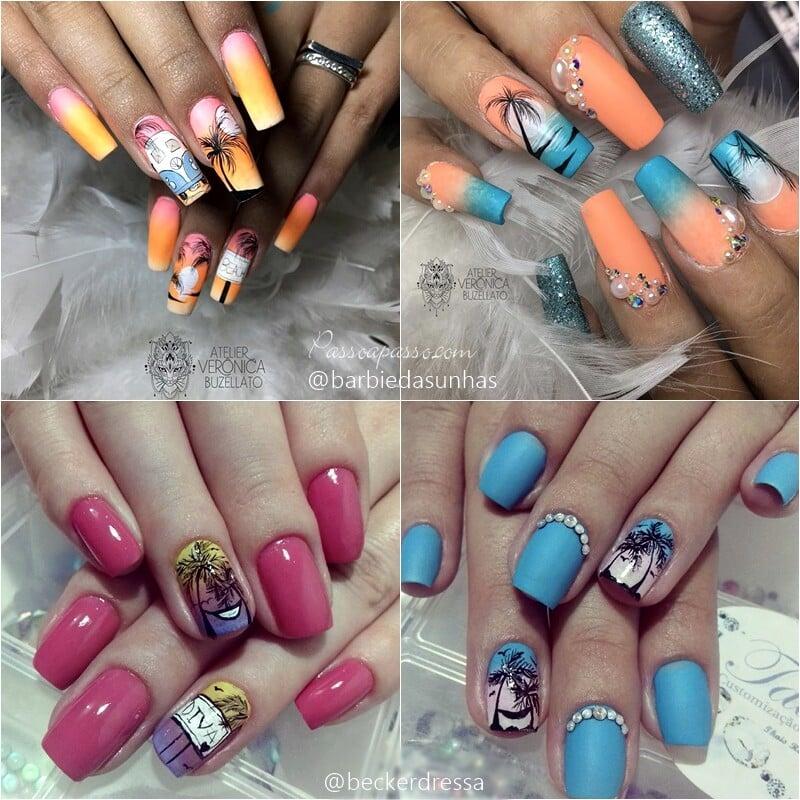 UNHAS DECORADAS - Lindas nails art com mais de 300 fotos