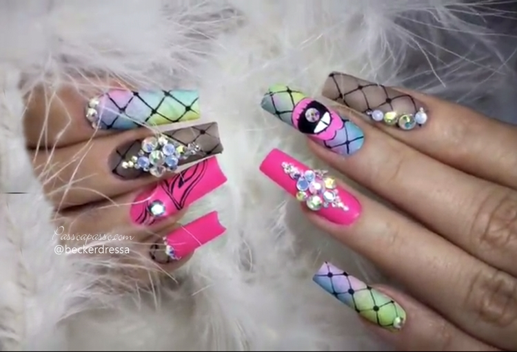 Unhas Decoradas Lindas Nails Art Com Mais De 300 Fotos