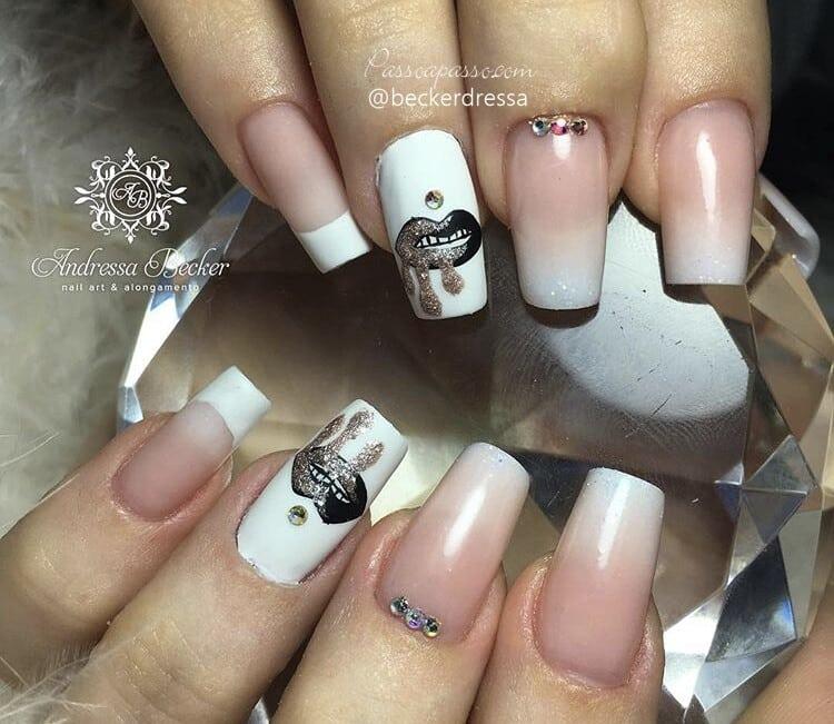 Nail art Unhas Kylie Jenner