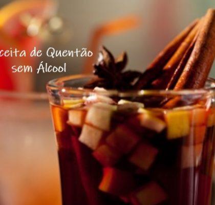 RECEITA DE QUENTÃO SEM ÁLCOOL para Festa Junina