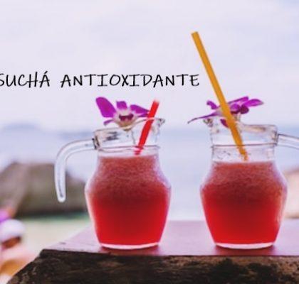SUCHÁ ANTIOXIDANTE refrescante, funcional e benéfico para a saúde
