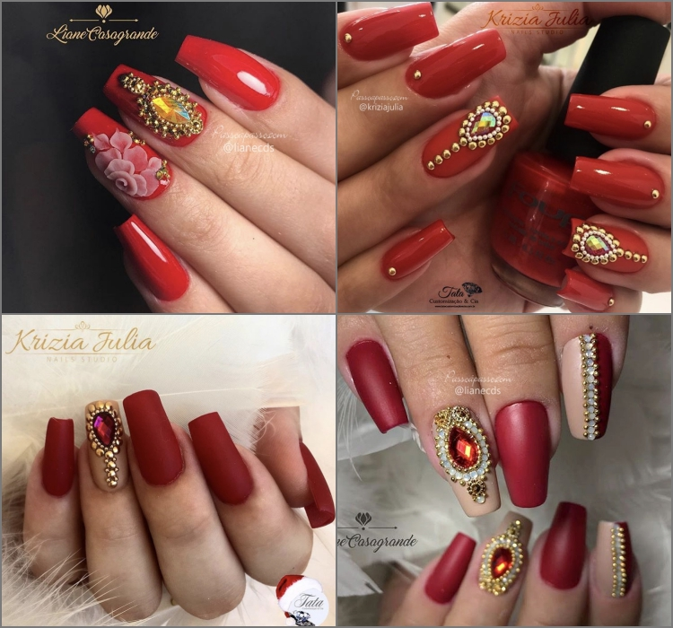 UNHAS DECORADAS - Lindas nails art com mais de 300 fotos