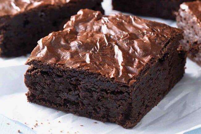Receita de Bolo de Brownie