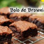 Bolo de Brownie: receita