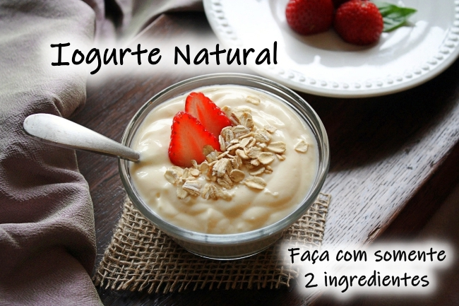 Receita de iogurte natural
