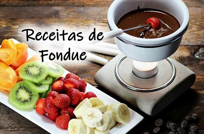 Receitas de fondue