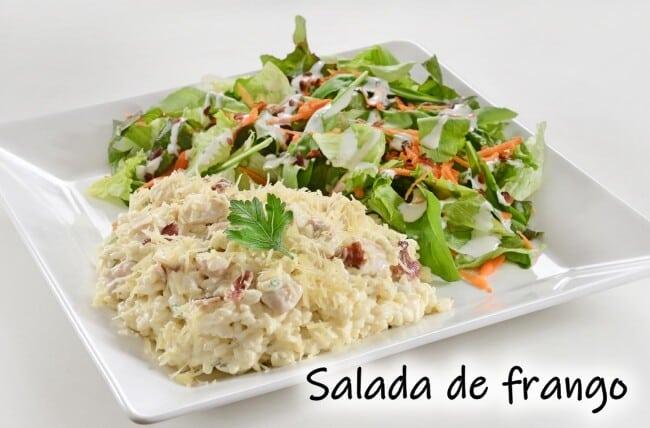 Salada de frango - 3 receitas deliciosas