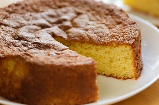 Receita de bolo de nada