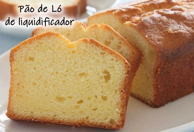 Receita de pão de ló de liquidificador