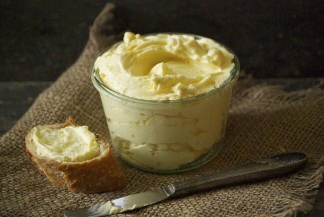 Receita de Manteiga Caseira sem Lactose