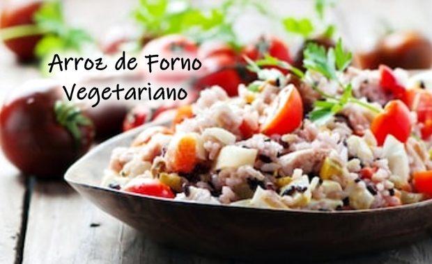 Arroz de Forno Vegetariano: simples, saudável e rápido para fazer