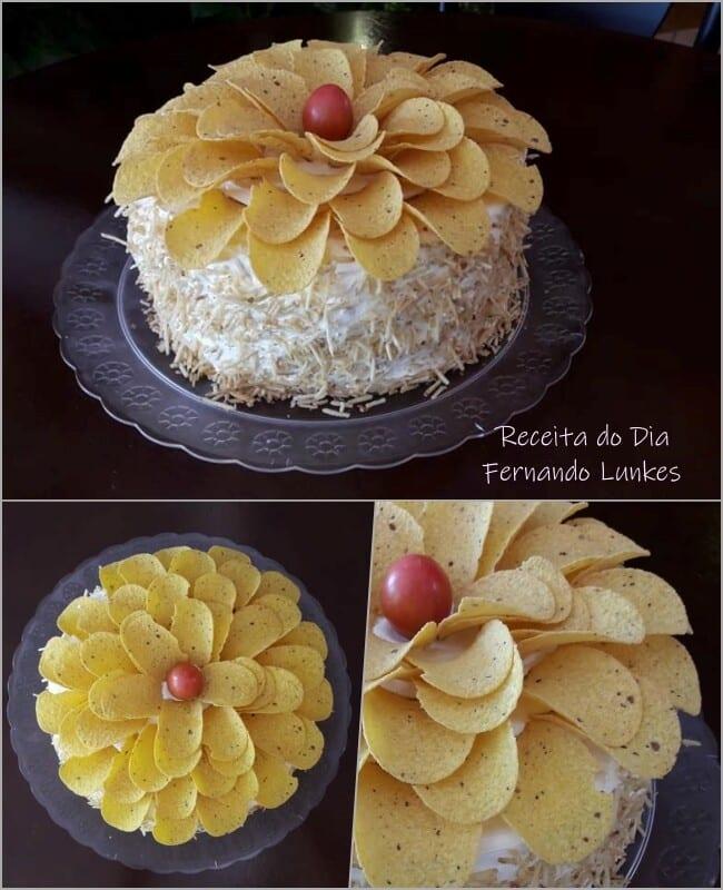 Receita de bolo de bromélia