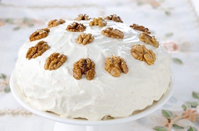 Receita de bolo camafeu