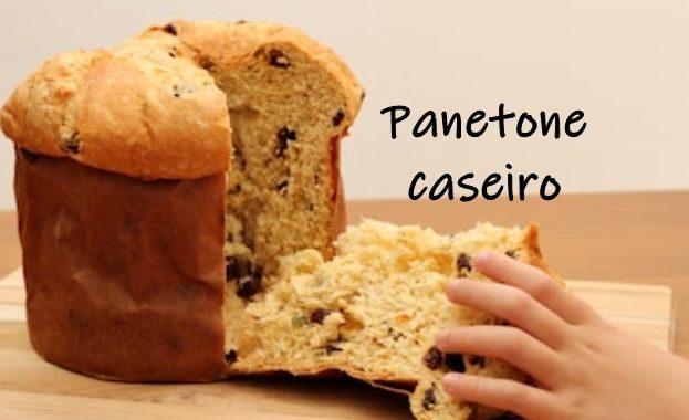 Panetone Caseiro: fofinho e sabor irresistível