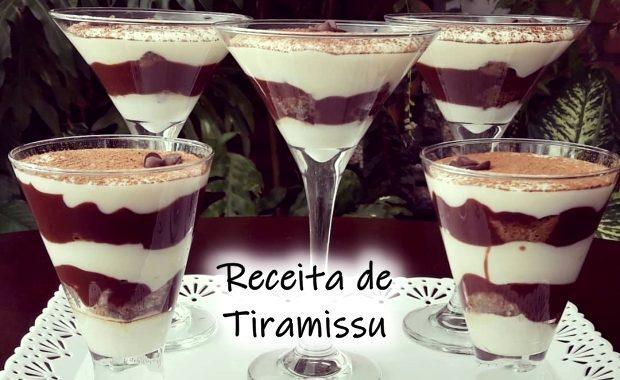 Receita de Tiramissu: clássico tiramissu simples e muito delicioso
