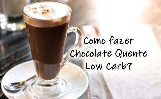 Como fazer chocolate quente low carb?