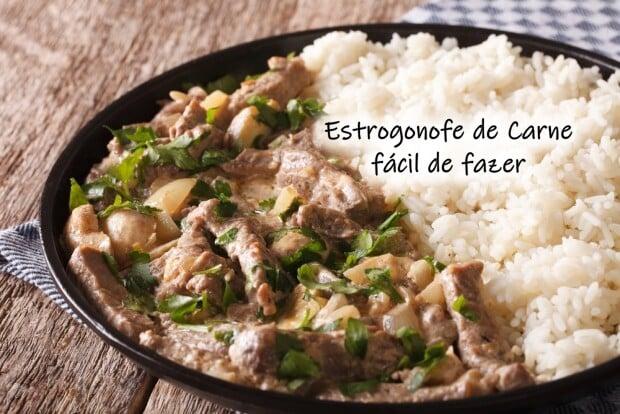 Estrogonofe de Carne