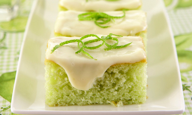 Bolo verde limão